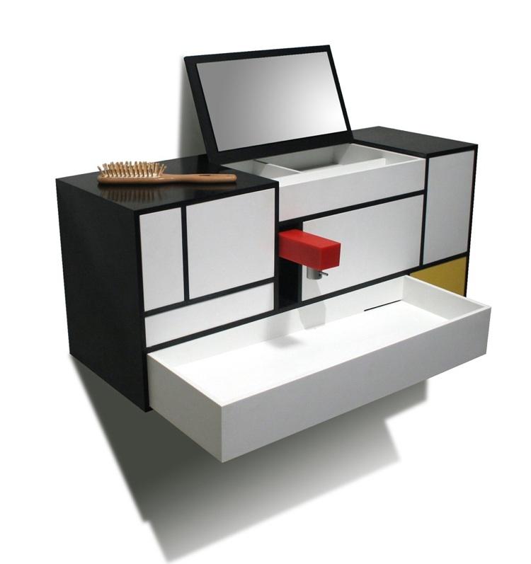 Rqr estudio mueble de ba o piet for El mueble especial banos